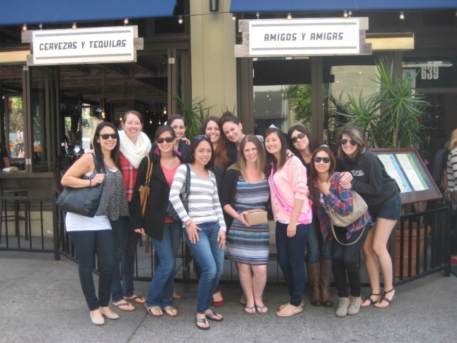 After the girls arrived, we went to The Blind Burro for lunch.  Delicious, happy hour specials, and no wait to be seated!