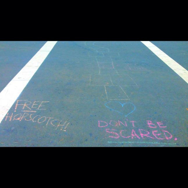 bachelorette hopscotch